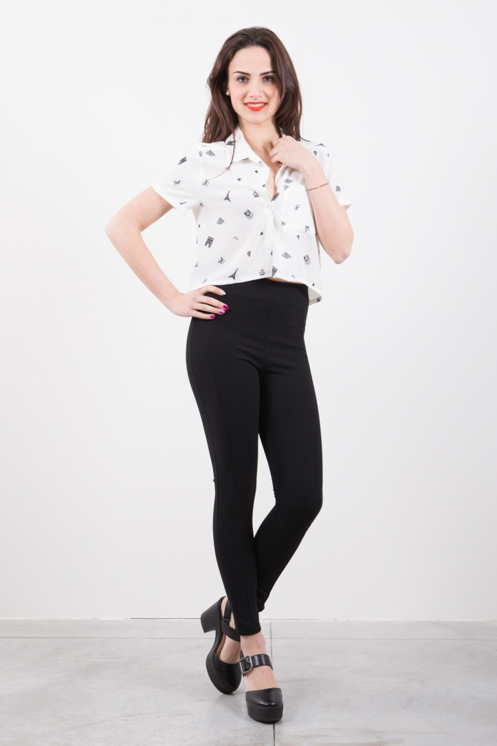 LEGGINGS VITA ALTA