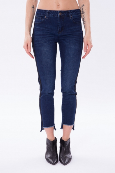 JEGGINGS ELASTIC. BANDE LATERALI